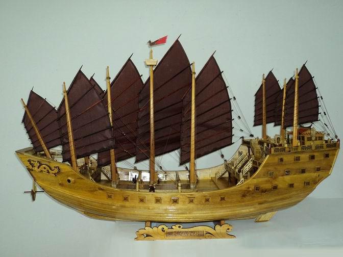 典雅青色 - 黄氏福船